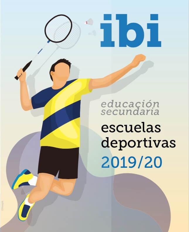 Escuelas deportivas ibi educación secundaria 2019-2020